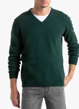 Мужской свитер пуловер шерсть henbury