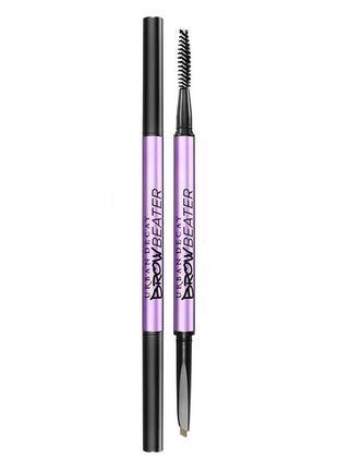 Сверхчёткий карандаш для бровей и кисть urban decay