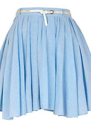 Невероятная юбка с ассиметричным низом, в идеале, s-m