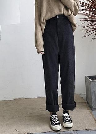 Тренд вельветовые брюки палаццо вельвет лапша