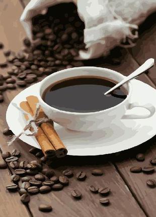 """Картина по номерах """"кава"""""""