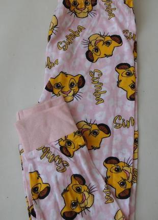 Пижамные штаны 2-3 года 98 см primark англия