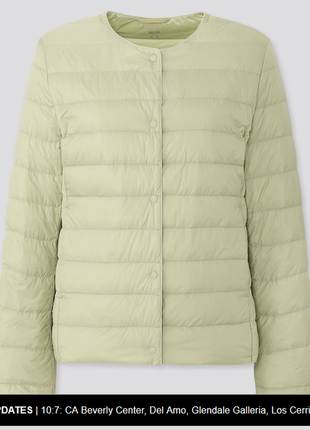 Пуховик, поддев от uniqlo япония ultra light down compact jacket