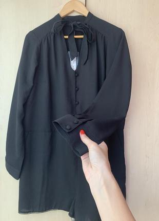 Очень стильный чёрный комбинезон шортами / ромпер limited edition от m&s