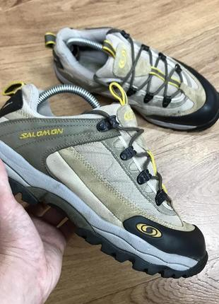 Трекинговые кроссовки salomon contragrip