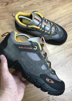 Трекинговые кроссовки salomon contragrip размер по факту 38 (24,5 см)