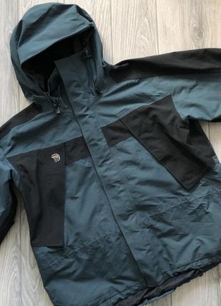 Куртка ветровка mountain hard wear gore-tex размер xl.