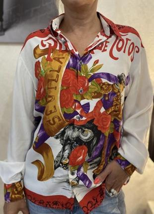 Стильная дизайнерская  рубашка франция