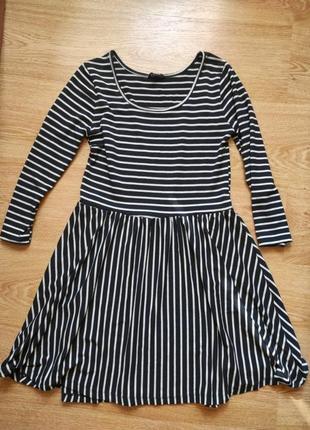 Вискозное рлотное платье