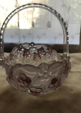 New конфетница walter glass (германия)