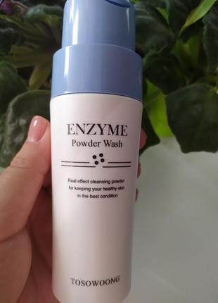 Энзимная пудра для умывания tosowoong enzyme powder wash