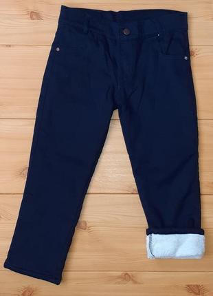 Школьные брюки на махре для мальчика рр. 110-128 beebaby (бибеби)