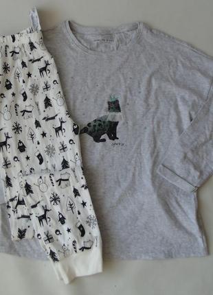 Домашний комплект пижама 12 лет next