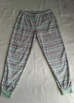 Флисовые теплые штанишки для дома.