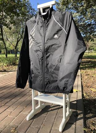Adidas packable rain jacket