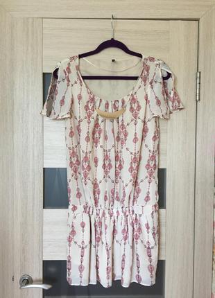 Платье летнее bershka