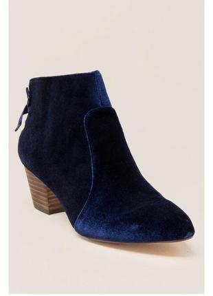Велюровые ботинки francesca's