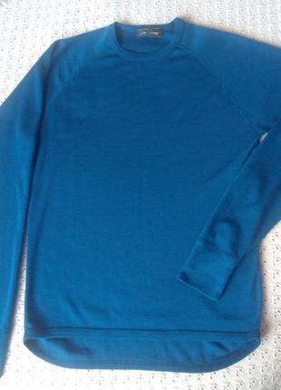 Термореглан з мериносової шерсті термо лонгслив футболка термобілизна термобелье шерстяное