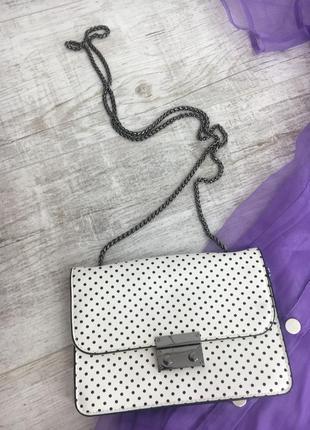 Сумочка сумка в крапку