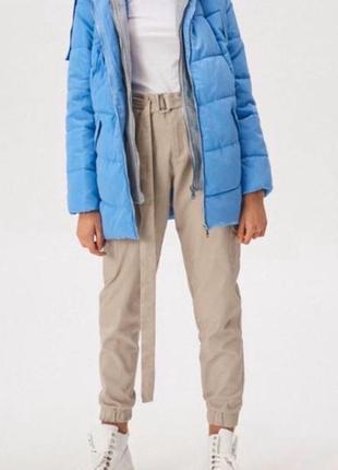 Куртка с трикотажным капюшоном