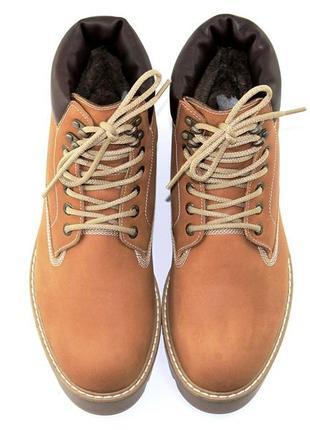 Ботинки мужские зимние  timberland разные цвета