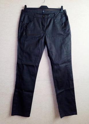 Штаны джинсы с напылением под кожу