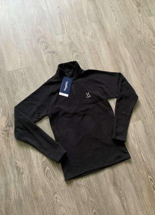 Мужская  флисовая кофта/пуловер haglofs astro top men!