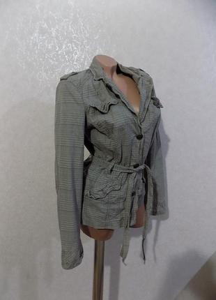Куртка ветровка с поясом фирменная esprit размер 46