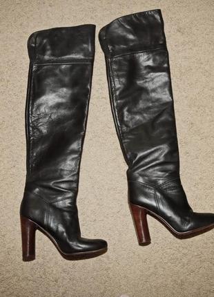 """Шикарные высокие сапоги """"marc jacobs"""", размер 38."""