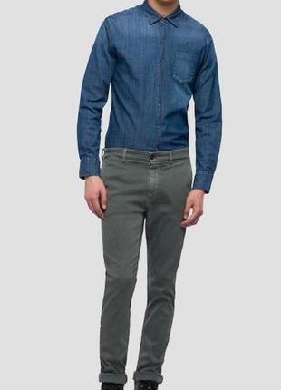 Брюки джинсы чинос replay zeuman люкс