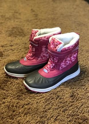 Размер 37, стелька 24 см легкие , тёплые, удобные лыжные сапоги ботинки