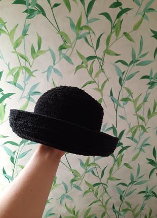 Шляпа чёрная