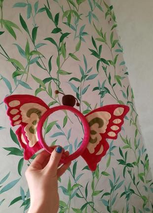 Обруч мотылёк, бабочка