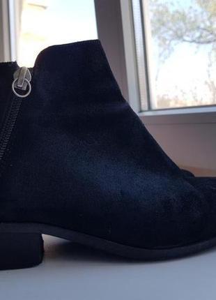 Брендовые топовые полусапожки ботинки челси сапоги натуральный замш обувь