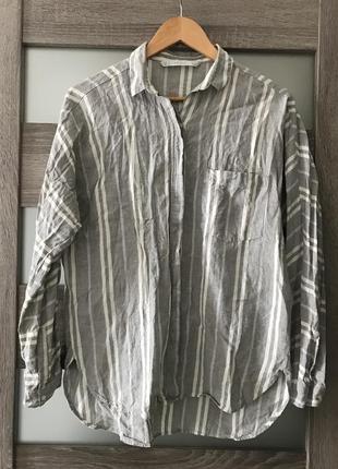 Сорочка з льону zara