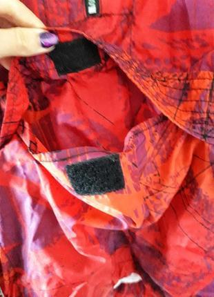 Nike оригинал куртка ветровка якрая на замок с карманами