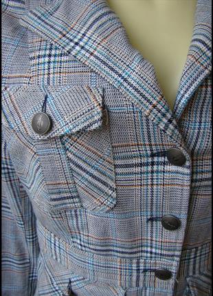 Пиджак шикарный красивый amisu p.46 7226