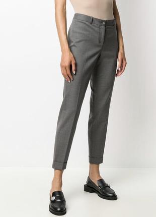 Изумительные брюки базовые зауженные премиум класса fabiana filippi размер xs/s