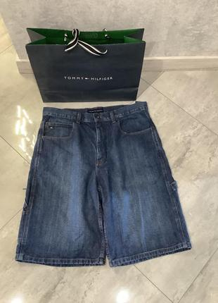 Мужские шорты tommy hilfiger размер л (33)