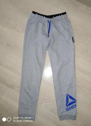 Спортивные штаны reebok р. 152-158 дл.91