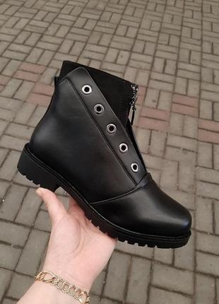 Зимние ботинки брак. распаровка