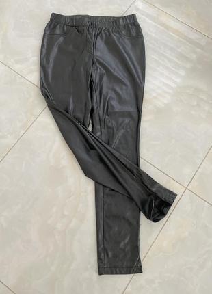 Лосины кожаные, штаны кожаные, брюки кожзам