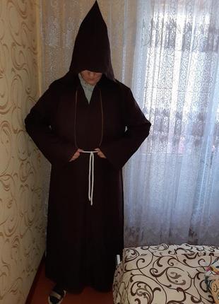 Карнавальный костюм монаха на хэллоуин