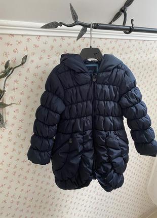 Зимнее пальто reserved 5-7 лет