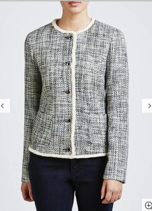 Твидовый пиджак премиум класса armani размер xl /l