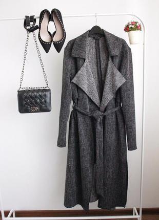 Пальто-кардиган new look с разрезами