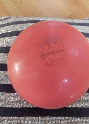 Мяч для занятий,тренировок художественной гимнастикой togu.германия.