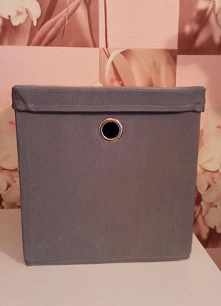 Коробка для хранения бокс органайзер ящик для игрушек мелочей стеллажа