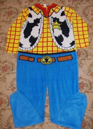 Пижама слип кигуруми комбинезон шериф вуди р. м/l