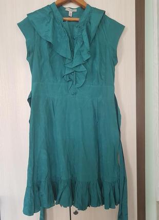Платье от ted baker шелк коттон
